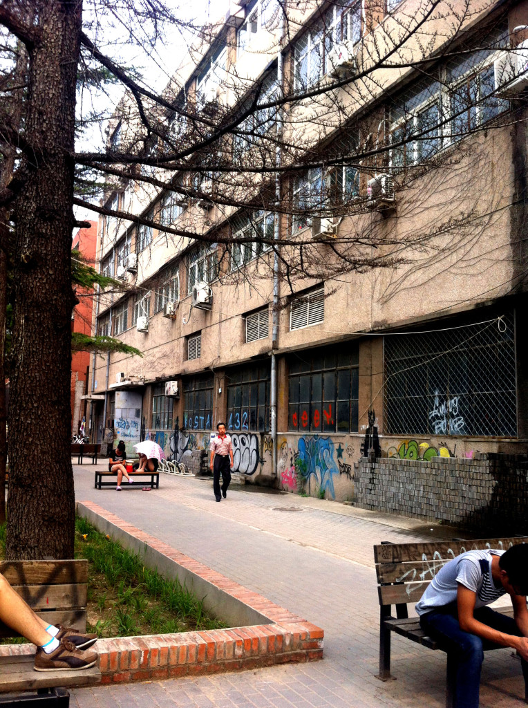 A factory turned art gallery in the Art 798 District. This gallery had an exhibition on Sam Hsieh and Wang Xingwei