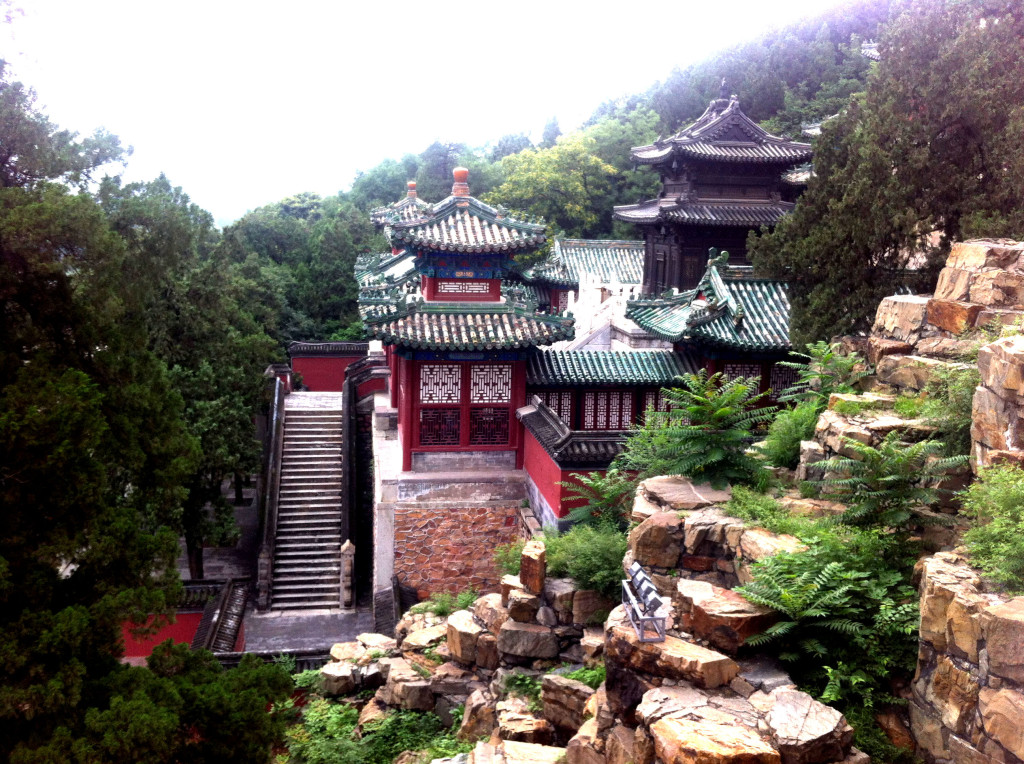 This is a building within the Summer Palace.